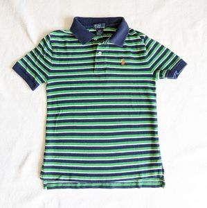 Polo by Ralph Lauren - boys striped polo - size 8